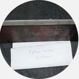 Комбинированные пресс-ножницы. Образец рубки листа толщиной 18мм.
