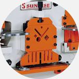 Механический прижим заготовки в объединенном блоке рубки.